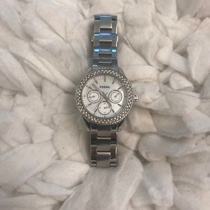 Fossil Stainless Steel Link Watch